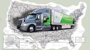 Usa Road Map Promo