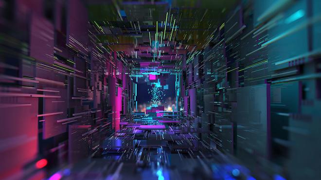 Data Center Abstract Promo