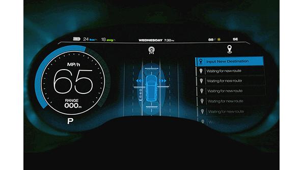 Digital Car Display