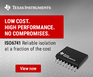 Texas Instruments Iso6741 300x250 Ed 110520 Kmr
