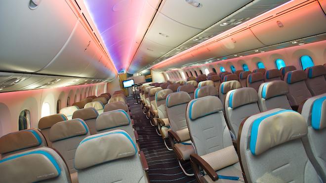 Airplane Led Lighting Promo
