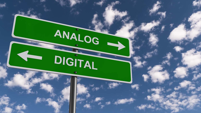 Analog Digital Sign Promo