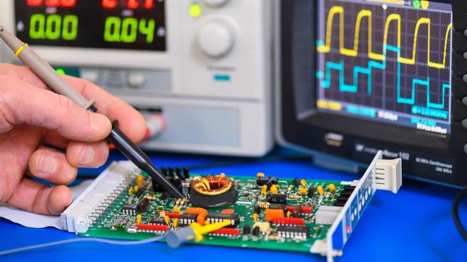 Circuit Board Krwphotographic Dreamstime Promo