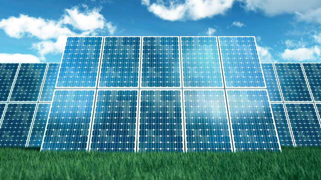 Solar Panels think large