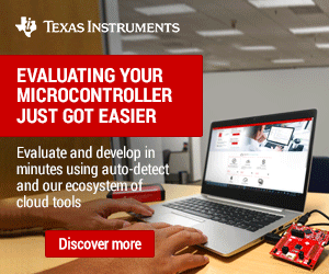 Texas Instruments Micro Controller 300x250 Ed 040121 Kmr