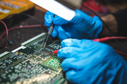 Semiconductors Stock Image